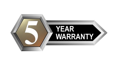 5yr warranty