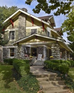 a limestone house in kansas city fits the shirtwaist home guidelines