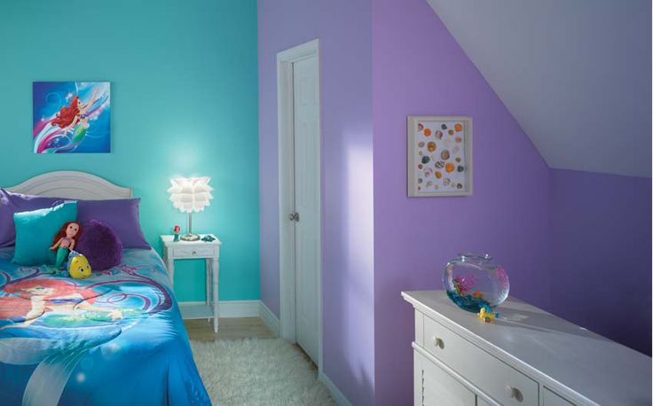 Repainting your kids 39 bedrooms this summer kansas city commercial residential painting company - Paint colors for girl rooms ...