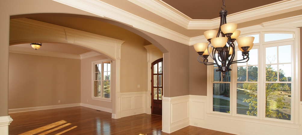 Winter interior house painting special offer kansas city for Painting inside a house