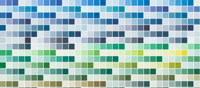 featured colors for 2014 from PPG paints for home improvements in the winter