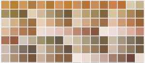 brown colors in 2014