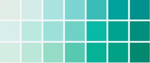 ocean blue 2014 colors