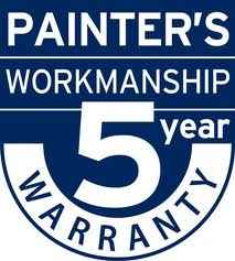 a five year warranty on painting work