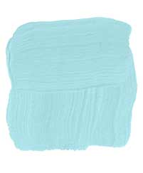 a light aqua interior room paint for choosy homeowners