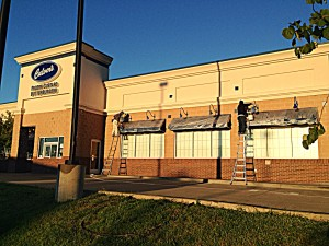 a culvers building gets a professional commercial painting job both outside and in