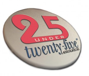 25 under 25 interior house painting award logo