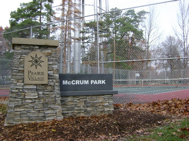 McCrum Park in Prairie Village, Kansas