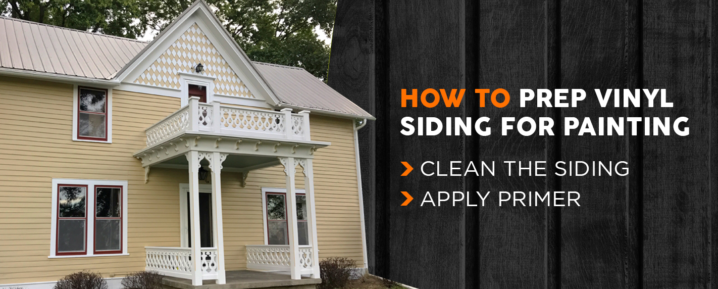 How to Prep Vinyl Siding for Painting