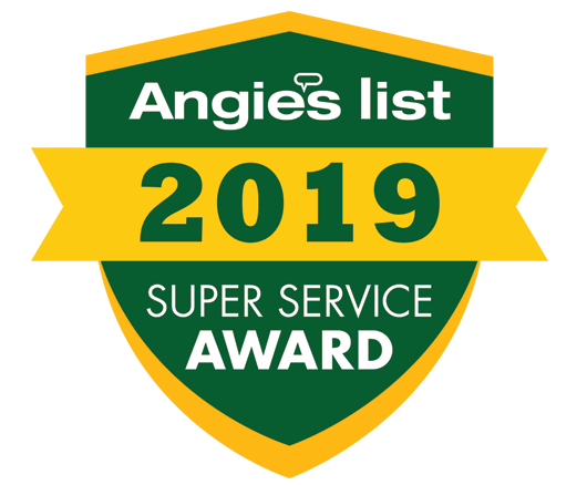 2019 Angie's List Super Service Award Winner
